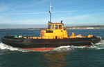 Berthing Tractor Tug - Barge Hire